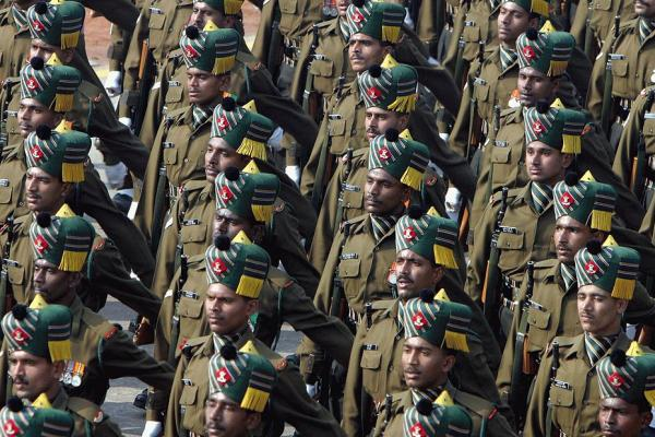 The Civil and the Military in India